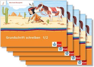 Mein Indianerheft. Grundschrift schreiben. Arbeitsheft Klasse 1/2 (5-er Paket)