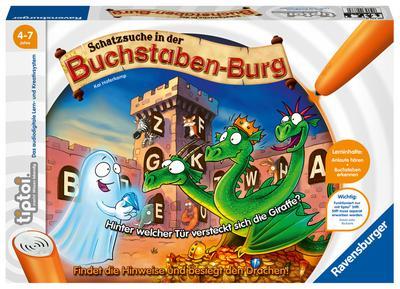 Ravensburger 00737 - tiptoi - Schatzsuche in der Buchstabenburg, Lernspiel