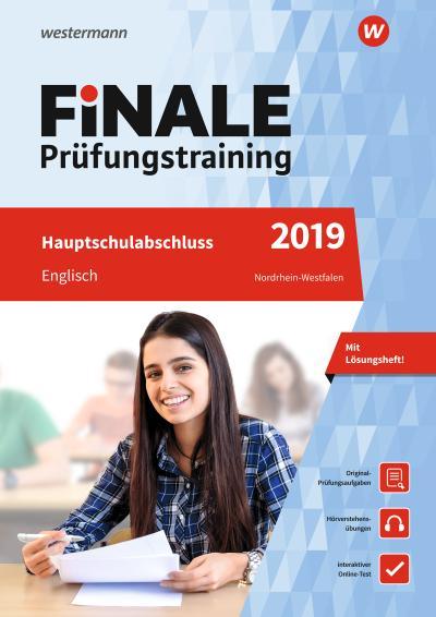 FiNALE Prüfungstraining Hauptschulabschluss Nordrhein-Westfalen: Englisch 2019 Arbeitsbuch mit Lösungsheft und Audio-CD