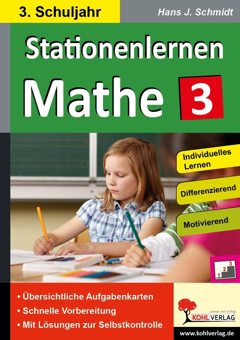 Kohls Stationenlernen Mathe 3. Schuljahr, Michael Junga