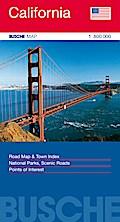 California 1 : 800 000 - Straßenkarte