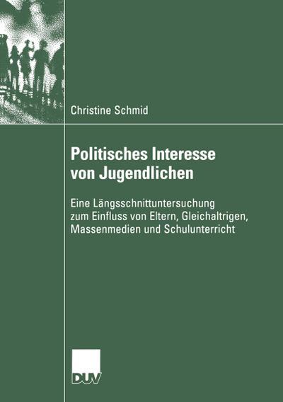 Politisches Interesse von Jugendlichen
