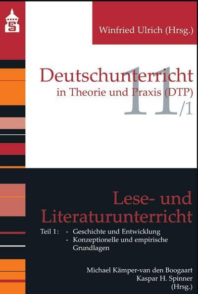 Lese- und Literaturunterricht. Tl.1