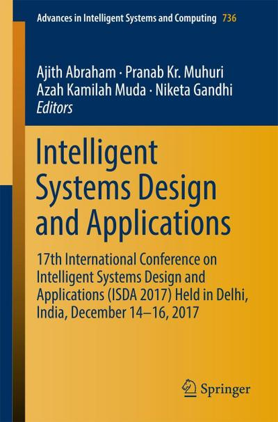 Intelligent Systems Design and Applications