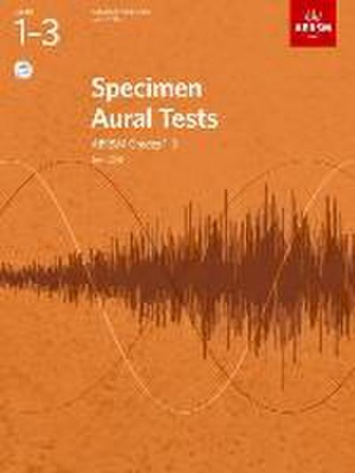 Specimen Aural Tests, Grades 1-3 with 2 CDs