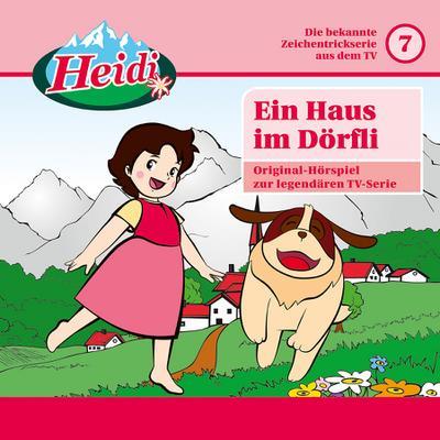 Heidi 07: Ein Haus im Dörfli