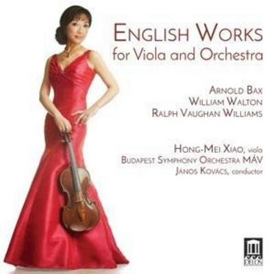 English Works For Viola And Orchestra