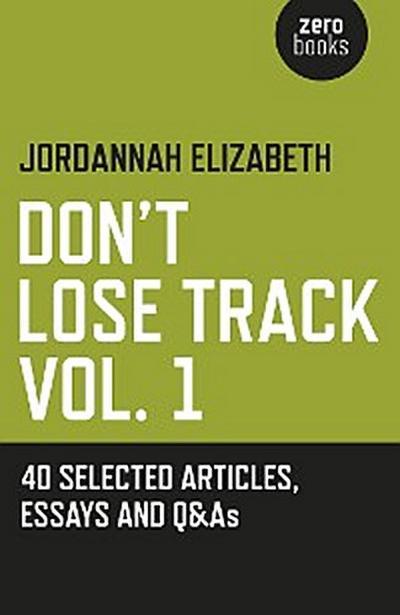 Don't Lose Track