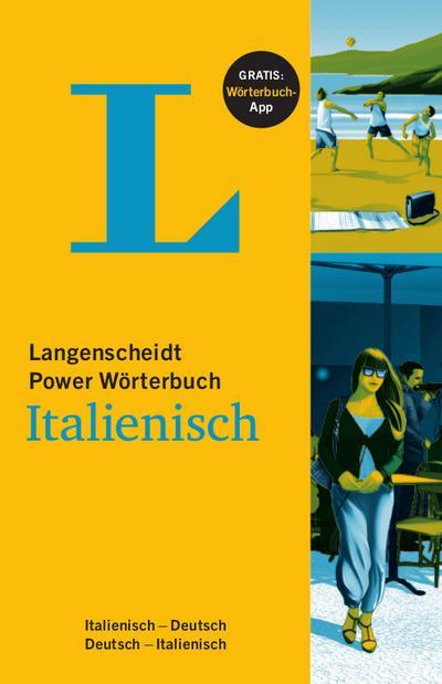 Langenscheidt Power Wörterbuch Italienisch - Buch und App