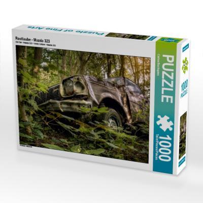 Rostlaube - Mazda 323 (Puzzle)