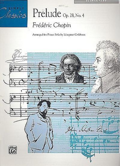 Chopin: Prelude, Op. 28, No. 4