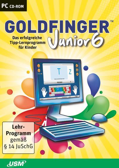 Goldfinger Junior 6: Das erfolgreiche Tipp-Programm für Kinder ab 8 Jahren - United Soft Media - CD-ROM, Deutsch, Holger Freudenreich, Das erfolgreiche Tipp-Programm für Kinder ab 8 Jahren, Das erfolgreiche Tipp-Programm für Kinder ab 8 Jahren