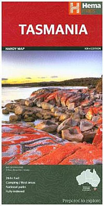 Tasmania Handy Map 1 : 480 000