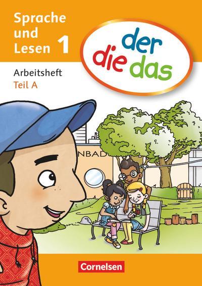der-die-das - Deutsch-Lehrwerk für Grundschulkinder mit erhöhtem Sprachförderbedarf - Erstlesen