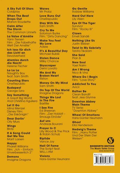 Piano gefällt mir! 50 Chart & Film Hits - Band 4 mit MP3 CD