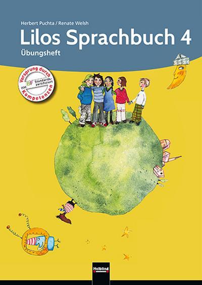 Lilos Sprachbuch 4. Übungsheft NEU: Sbnr 120748
