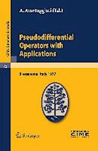 Pseudodifferential Operators with Applications A. Avantaggiati