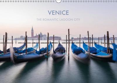 Venice the romantic lagoon city (Wall Calendar 2019 DIN A3 Landscape)