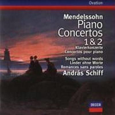 Mendelssohn: Piano Concertos Nos.1 & 2, Songs without words