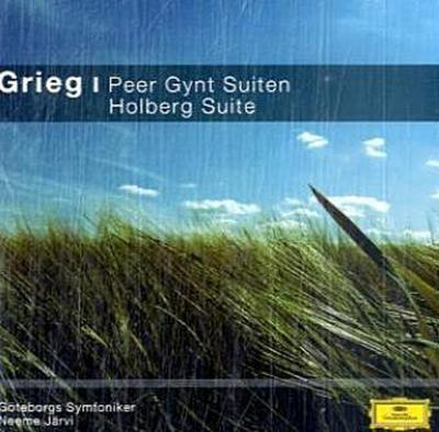 Peer Gynt Suiten Nr.1 & 2, Holberg Suite, 1 Audio-CD