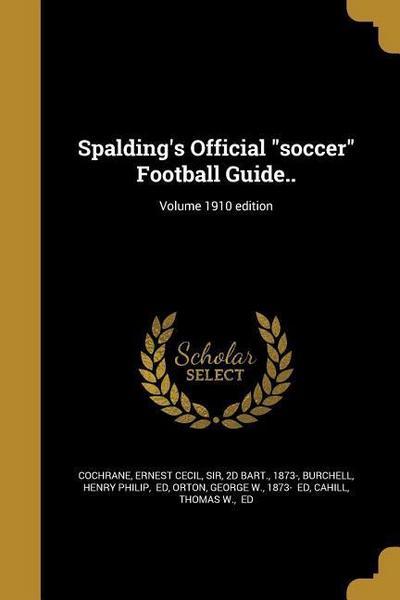 SPALDINGS OFF SOCCER FOOTBALL
