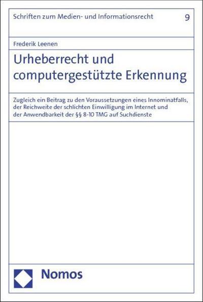 Urheberrecht und computergestützte Erkennung