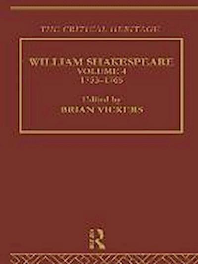William Shakespeare: Volume 4