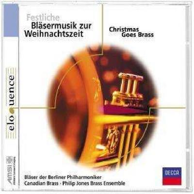 Festliche Bläsermusik zur Weihnachtszeit. Klassik-CD