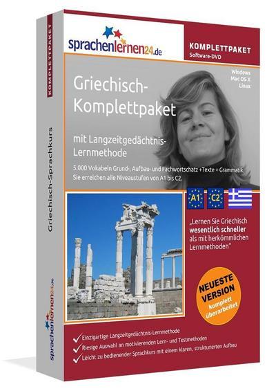 Sprachenlernen24.de Griechisch-Komplettpaket (Sprachkurs)