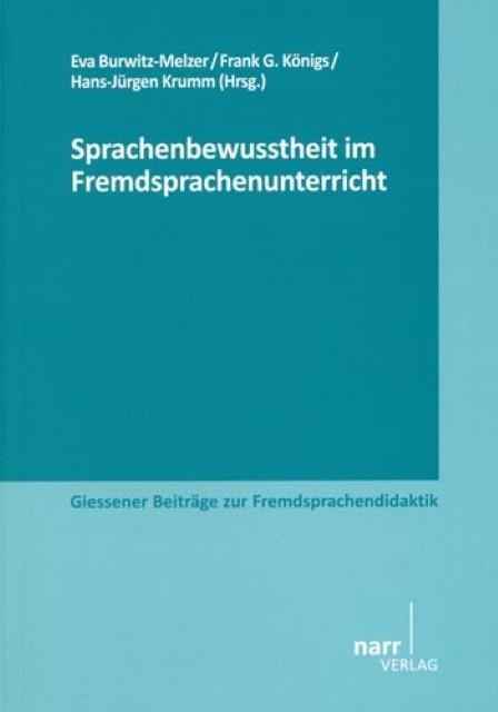Sprachenbewusstheit im Fremdsprachenunterricht Eva Burwitz-Melzer