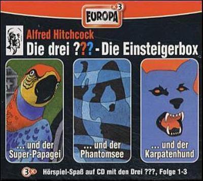 Die drei ??? - Einsteiger-Box. Box.1, 3 Audio-CDs