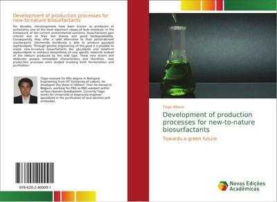 Development of production processes for new-to-nature biosurfactants
