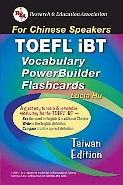 TOEFL Ibt Vocabulary Flashcard Book (Taiwan Edition)