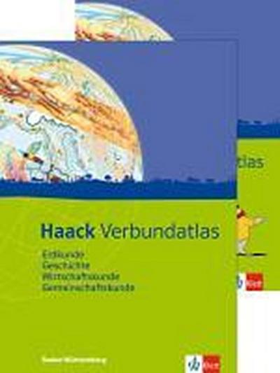 Haack Verbundatlas. Mit Arbeitsheft Kartenlesen. Sekundarstufe I. Ausgabe für Baden-Württemberg