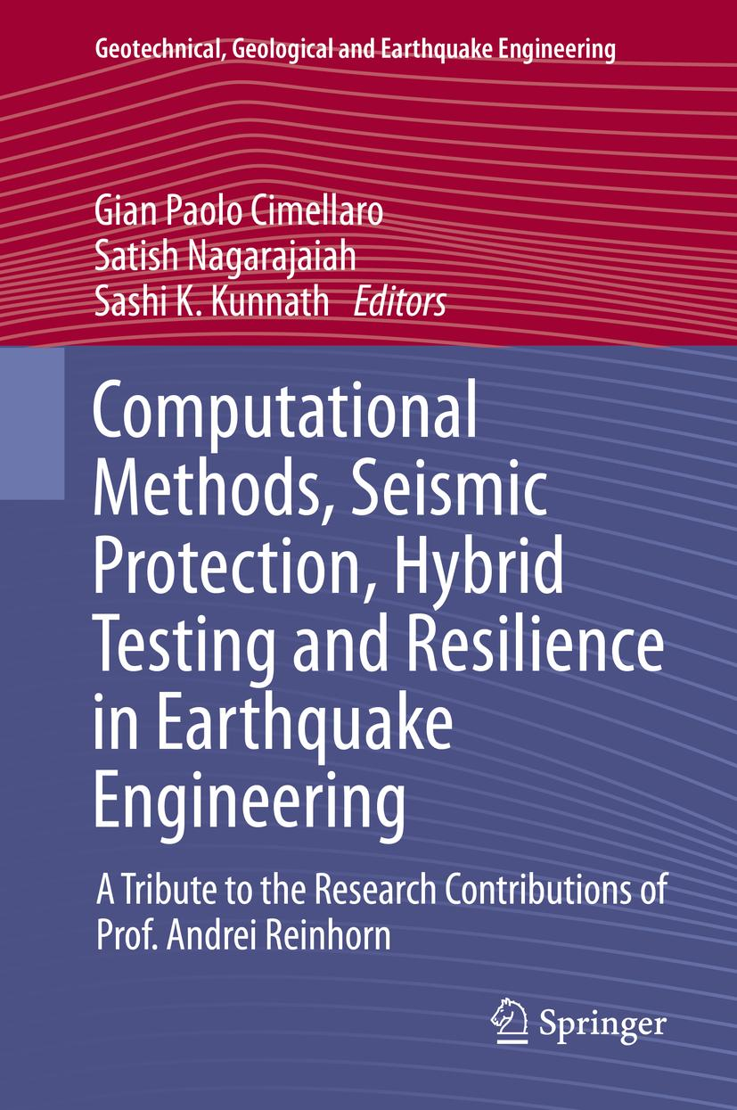 Computational Methods, Seismic Protection, Hybrid Testing and Resilience in ...