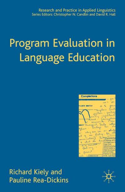 Program Evaluation in Language Education