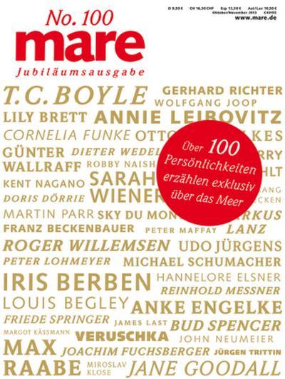 mare, Die Zeitschrift der Meere Über 100 Persönlichkeiten erzählen exklusiv über das Meer - Mareverlag - , Deutsch, Nikolaus K. Gelpke, ,