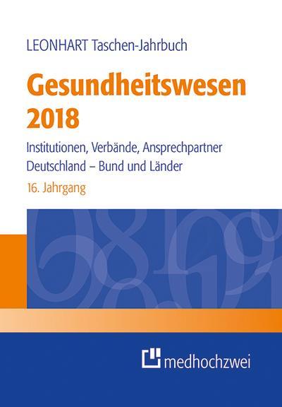 Leonhart Taschen-Jahrbuch Gesundheitswesen 2018