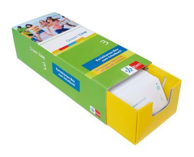 Green Line, Neue Ausgabe für Gymnasien Karteikarten-Box zum Lehrwerk