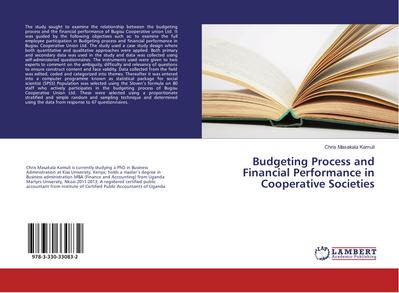 Budgeting Process and Financial Performance in Cooperative Societies