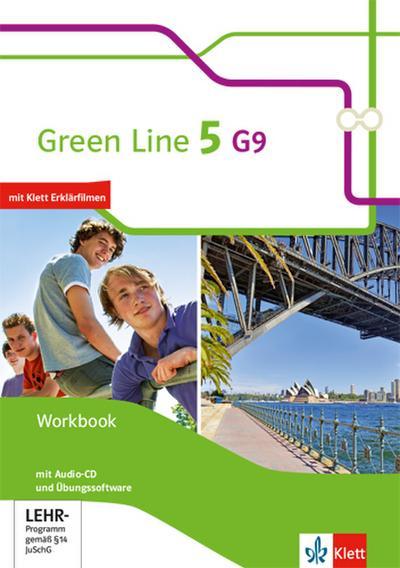 Green Line 5 G9. Workbook mit Audio-CD und Übungssoftware. Klasse 9