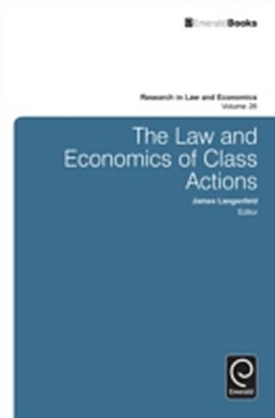 Law and Economics of Class Actions