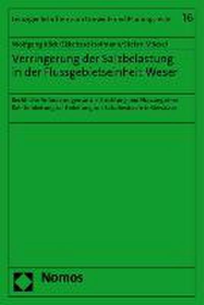 Verringerung der Salzbelastung in der Flussgebietseinheit Weser