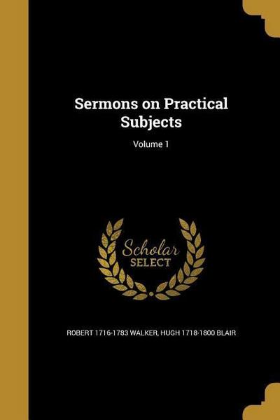 SERMONS ON PRAC SUBJECTS V01