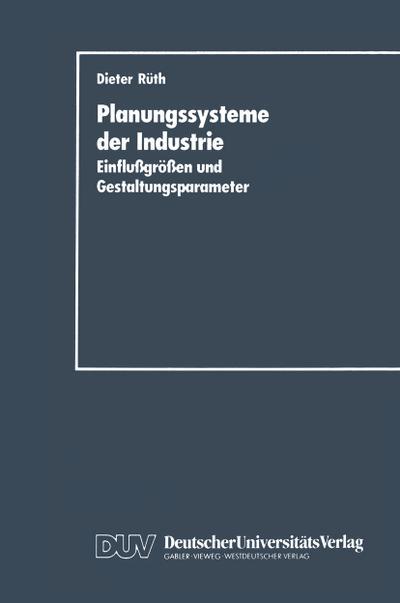 Planungssysteme der Industrie