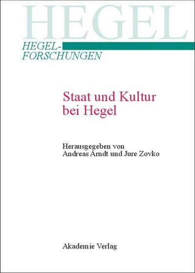 Staat und Kultur bei Hegel