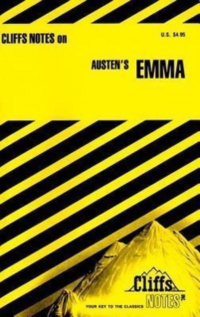CliffsNotes Austen`s Emma (Cliffsnotes Literature Guides) - Cliffs Notes - Taschenbuch, Englisch, Ph.D Thomas J. Rountree, ,