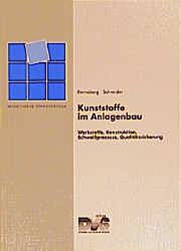 Kunststoffe im Anlagenbau, Horst Renneberg