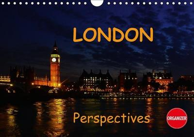 London perspectives (Wall Calendar 2018 DIN A4 Landscape)