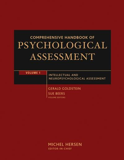 Comprehensive Handbook of Psychological Assessment, Volume 1